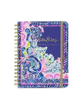 Lilly Pulitzer Large 12 Month Agenda, Seaside Menagerie