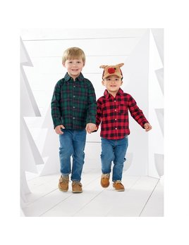 HAT Reindeer Buffalo Check Hat