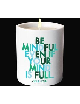 CANDLE Quotable Candle - Be Mindful