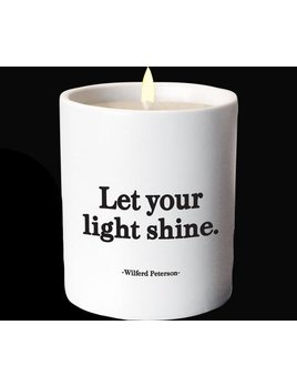 CANDLE Quotable Candle - Let Your Light Shine