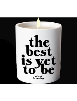 CANDLE Quotable Candle  - The Best Is Yet To Be