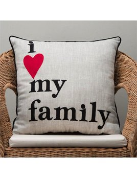 PILLOW I Love My Family Pillow