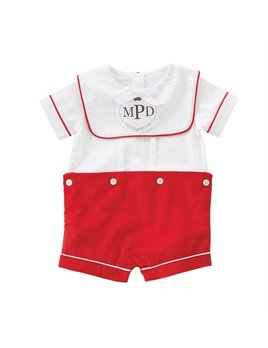Monogram Me Holiday Shortall