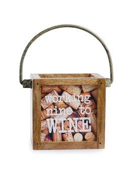 Nine To WIne Mini Cork Box