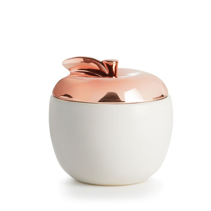 CANDLE Apple Novelty Ceramic Candle, Cider Woods