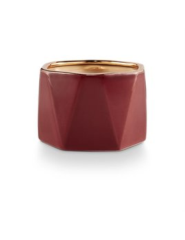 candle Holiday Shine Dylan Electroplated Ceramic, Mulled Wine