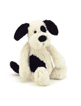 Bashful Puppy Black and Cream - Medium
