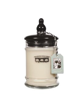 Personalized 8oz Small Jar Candle - White Cotton