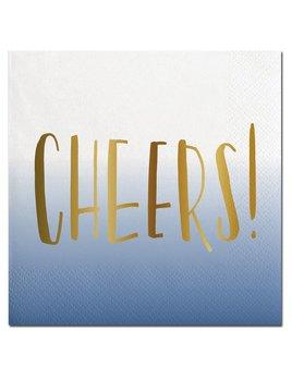 NAPKINS 20ct Napkin - Ombre Cheers!