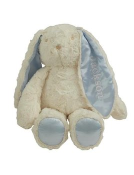 Personalized Blue Floppy Earred Bunny