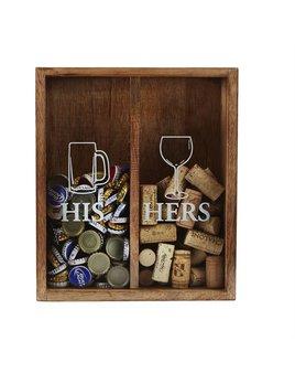 His & Hers Cork Display Box