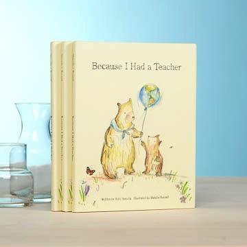 BOOK BECAUSE I HAD A TEACHER BOOK