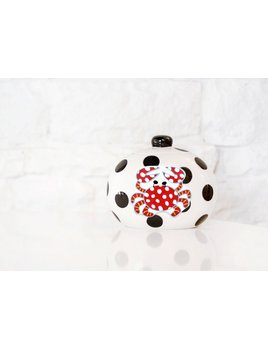 Black Dot Happy Everything Mini Cookie Jar