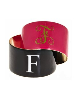 CUFF Monogrammed Enamel Fornash Cuff