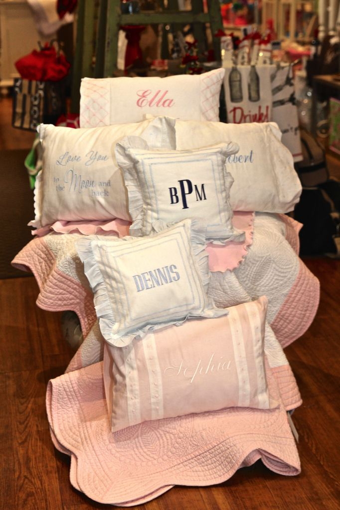 PILLOW Personalized Baby Pillow