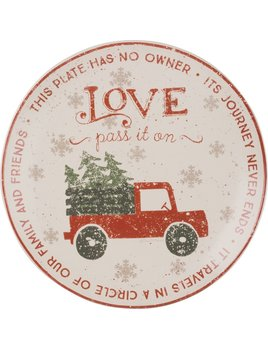 Giving Plate - Love - Pass It On