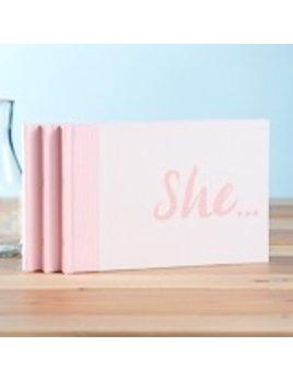BOOK SHE BOOK