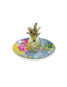 RING DISH Lilly Pulitzer Ring Holder, Cheek To Cheek