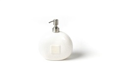 HOME ACCESSORY WHITE SMALL DOT MINI SOAP PUMP