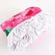 Towel PINK ROSE ROUND FRINGED BEACH TOWEL