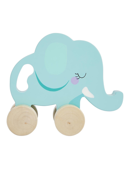 TOY ELEPHANT PUSH PULL TOY