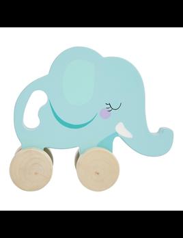TOY ELEPHANT PUSH PULL TOY