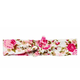 HEADBAND PINK FLORAL KNOTTED BY HEADBANDS OF HOPE