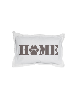 PILLOW HOME PAW PRINT RECTANGLE PILLOW