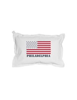 PILLOW PERSONALIZED 50 STARS FLAG RECTANGLE PILLOW