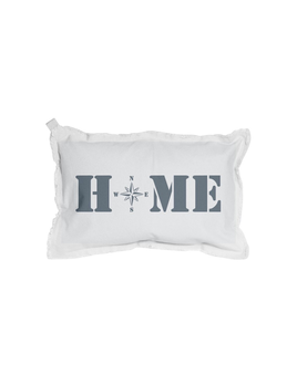PILLOW HOME COMPASS RECTANGLE PILLOW