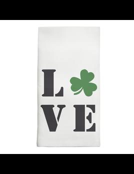 HOME LOVE SHAMROCK TEA TOWEL