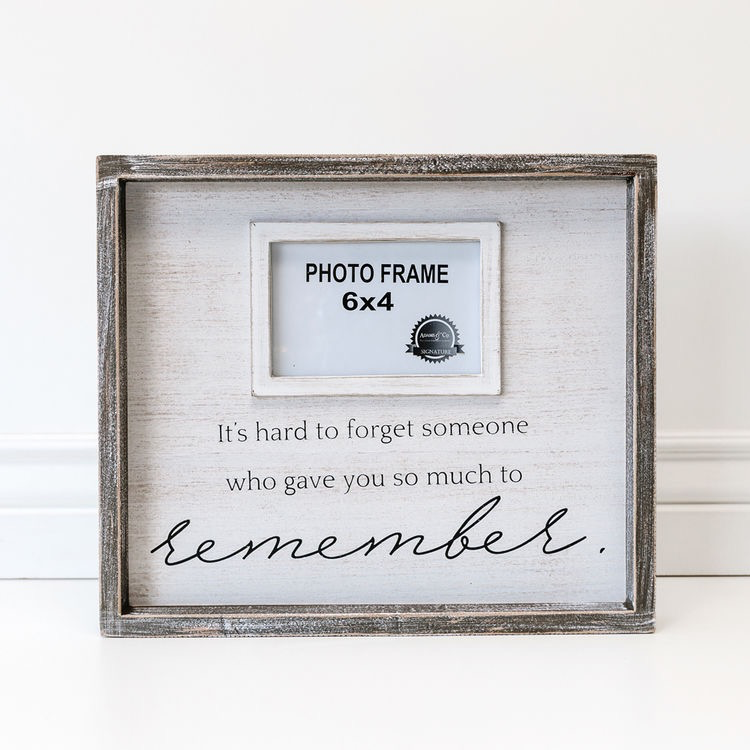 FRAME IT'S HARD TO FORGET SOMEONE - FRAME