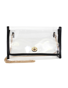 CROSSBODY BAG Transparent Clear Clutch/Crossbody Bag