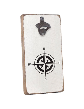 BOTTLE OPENER BOTTLE OPENER - COMPASS ROSE