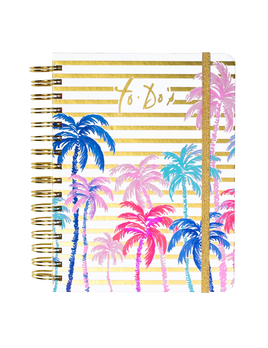 JOURNAL LILLY PULITZER TO DO PLANNER, PALMS