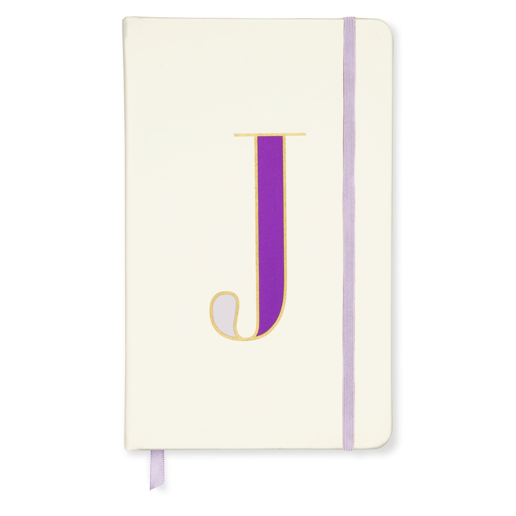 NOTEBOOK KATE SPADE NEW YORK, INITIAL TAKE NOTE LARGE NOTEBOOK, J