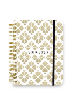 JOURNAL KATE SPADE NEW YORK, 17 MONTH PLANNER LARGE, SPADE FLOWER
