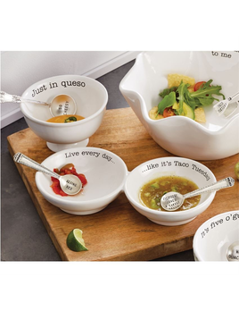 DIP SET DOUBLE SALSA SERVER SET