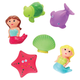 TOY MERMAID RUBBER BATH TOYS