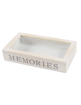 BOX MEMORIES WOODEN SHADOW-BOX