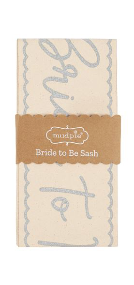 ACCSSORIES BRIDE TO BE SASH