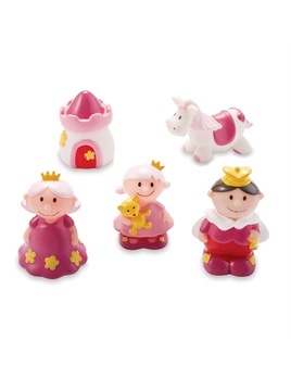 TOY PRINCESS RUBBER BATH TOYS