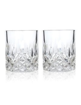 GLASSES ADMIRAL - CRYSTAL TUMBLERS