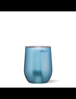 WINE GLASS CORKCICLE STEMLESS 12 OZ - MOONSTONE