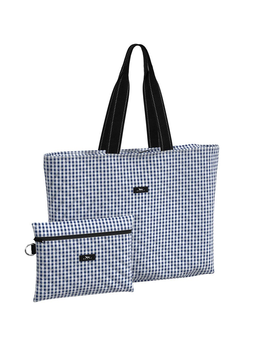 TOTE BAG PLUS 1 - BROOKLYN CHECKHAM