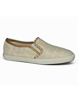 Jack Rogers Baldwin Sneaker - Ecru