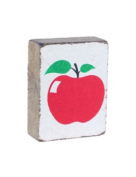 White Tumbling Block, Apple