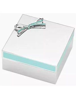 Kate Spade Keepsake Box by Lenox, Turquoise