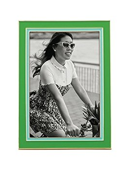 FRAME Kate Spade Portland Enamel  4X6 Frame, Green/Trq