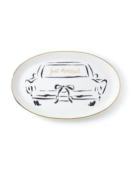 PLATTER Kate Spade New York Bridal Party Oblong Dish by Lenox